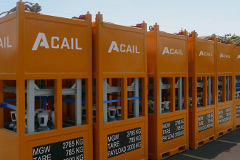 SERVICES OF CYLINDERS CONNECTIONS - RACKS - Acail Gás